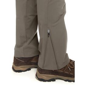 Maier Sports Inara Slim Spodnie długie Kobiety brązowy